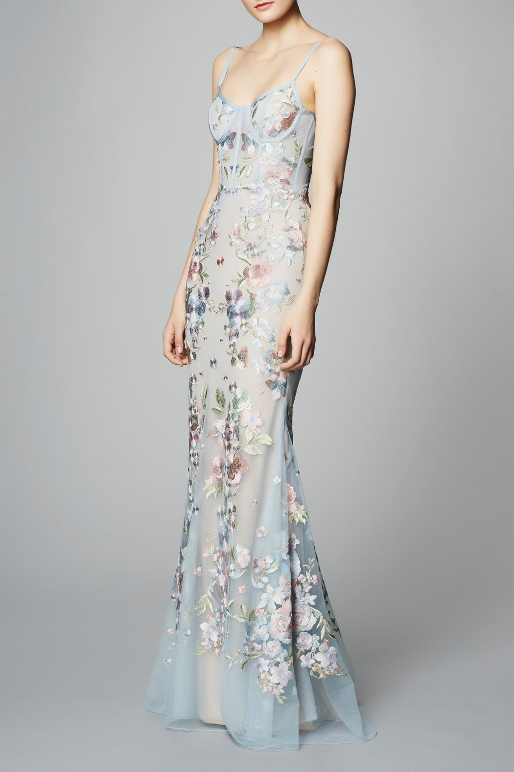 Marchesa Sleeveless Corset Gown from New Jersey by District 5 ...