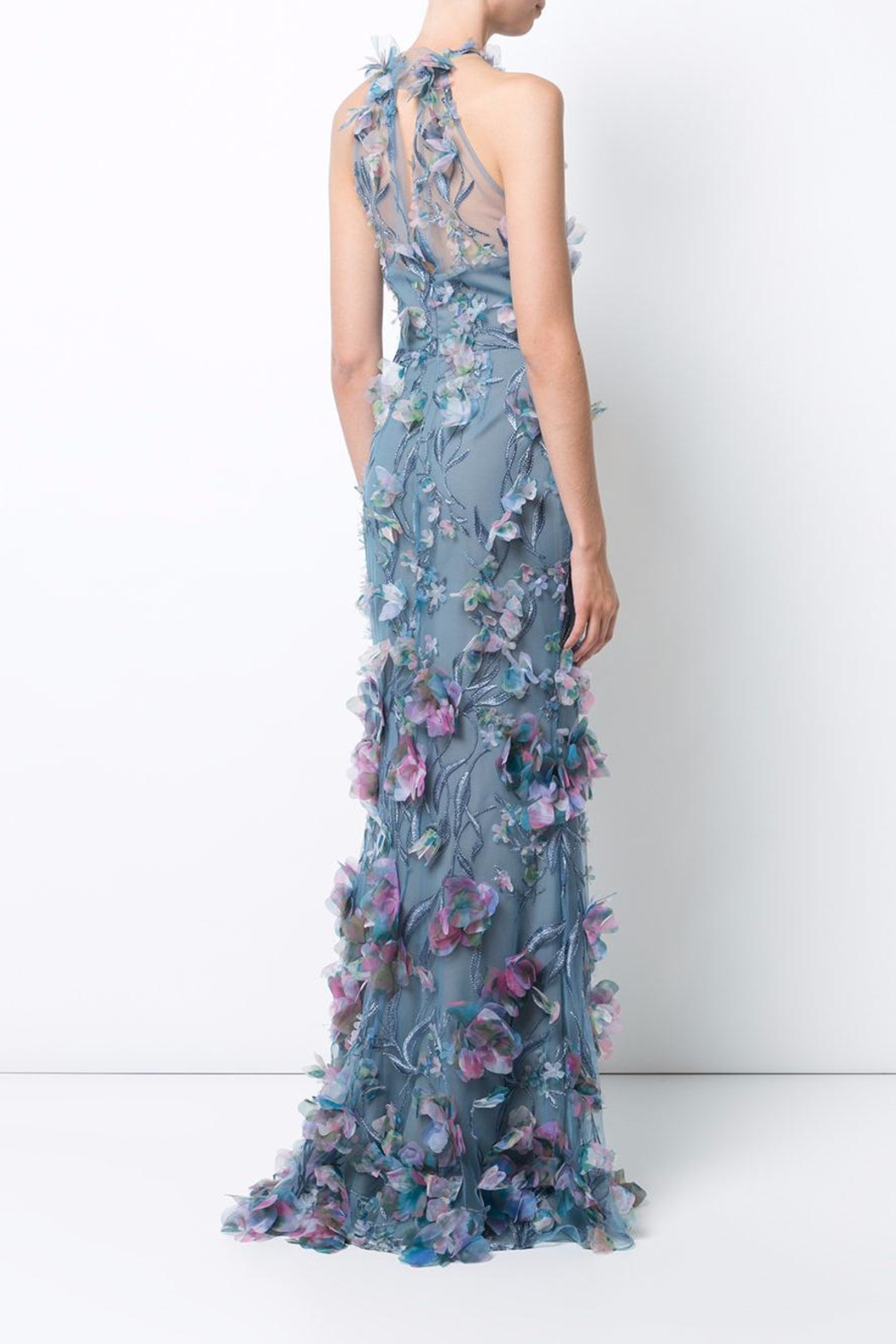 Notte by Marchesa Sleeveless Evening Gown - Front Full Image