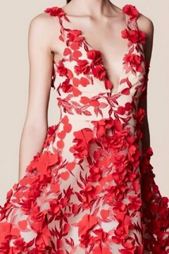 Notte by Marchesa Sleeveless Floral Dress - Alternate List Image