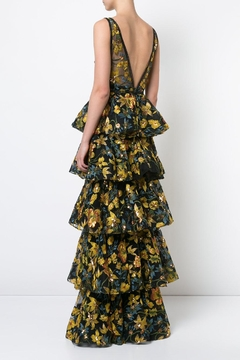 Notte by Marchesa Sleeveless Floral Gown - Alternate List Image