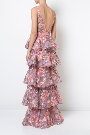 Notte by Marchesa Sleeveless Floral Gown - Side cropped
