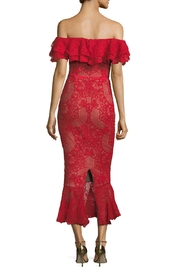 Notte by Marchesa Off Shoulder Dress - Front full body