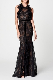 Notte by Marchesa Sleeveless Lace Gown - Product Mini Image