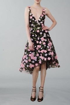Notte by Marchesa Sleeveless Petal Dress - Product List Image
