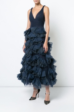 Notte by Marchesa Sleeveless Tulle Dress - Product List Image