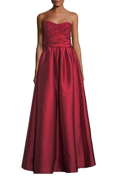 Notte by Marchesa Strapless Ball Gown - Product List Image