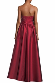 Marchesa Strapless Ball Gown - Front full body