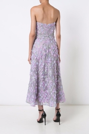 Notte by Marchesa Strapless Tea Dress - Front full body