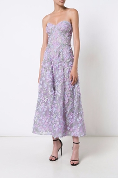 Notte by Marchesa Strapless Tea Dress - Product List Image