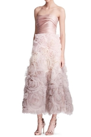 Notte by Marchesa Strapless Textured Gown - Product Mini Image