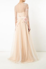 Notte by Marchesa Tulle Evening Gown - Front full body