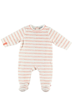 Shoptiques Product: NOUKIES BABY TERRY STRIPED FOOTIE