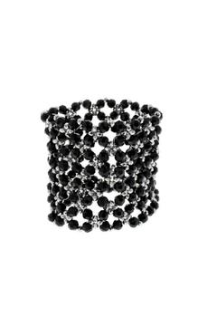 Nour London Beaded Crystal Cuffs - Product List Image