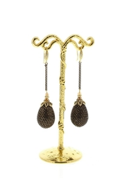 Nour London Chain Drop Earrings - Product Mini Image