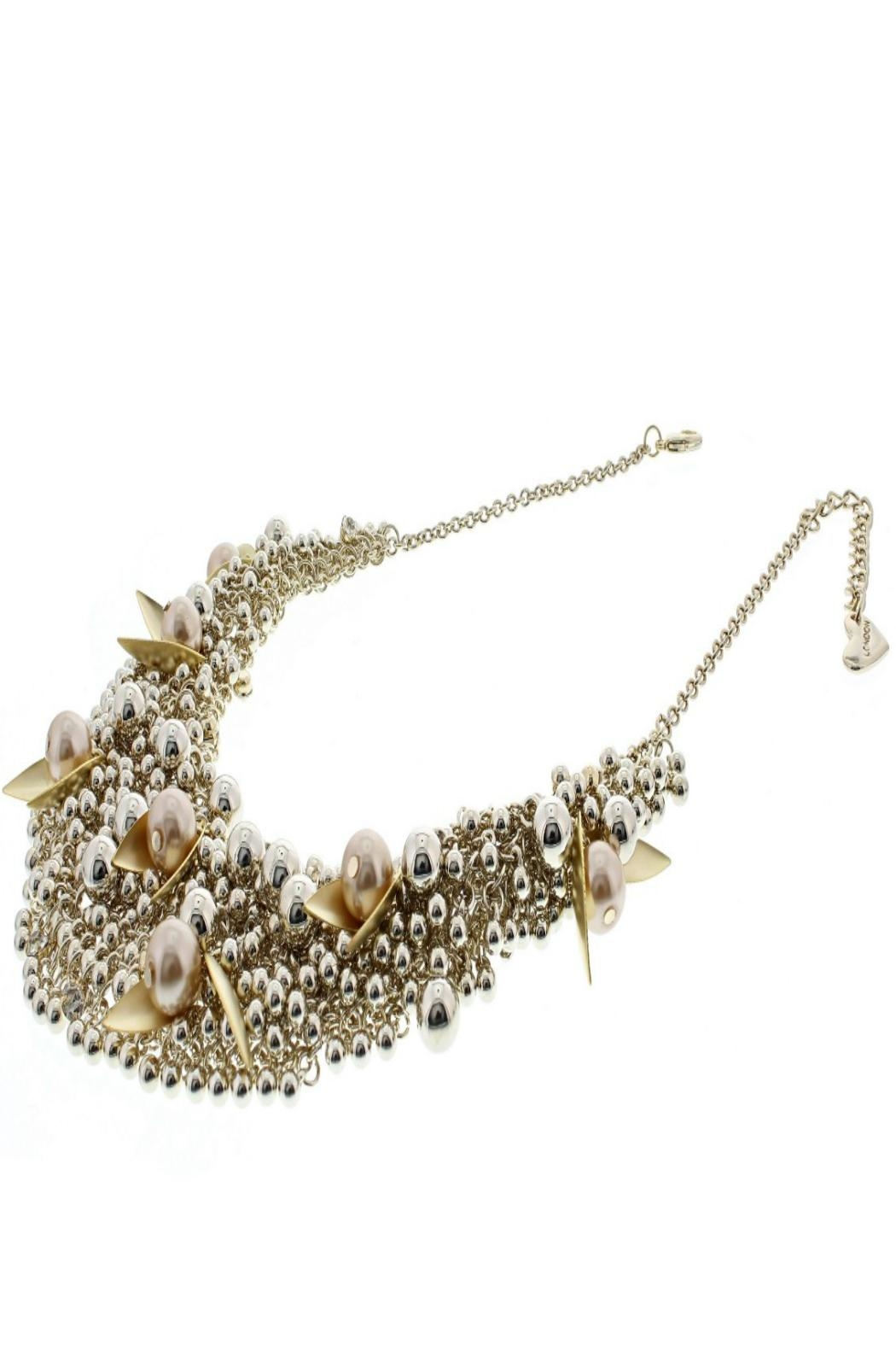 Nour London Pearl/crystal Necklaces - Front Full Image