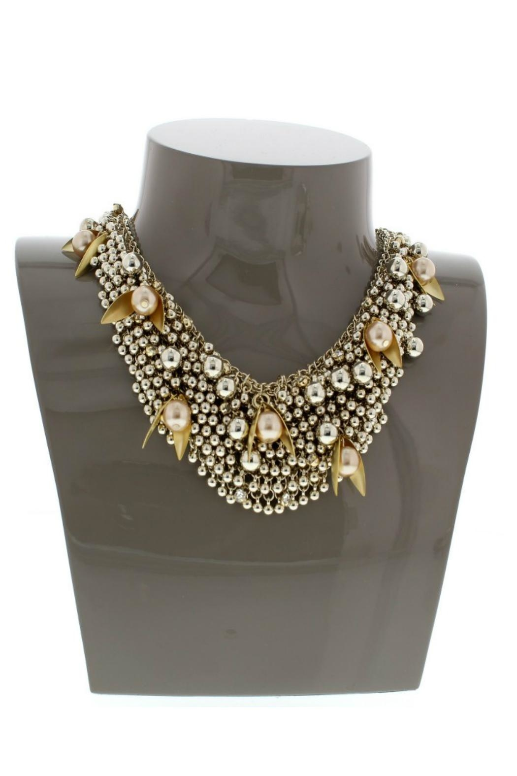 Nour London Pearl/crystal Necklaces - Side Cropped Image