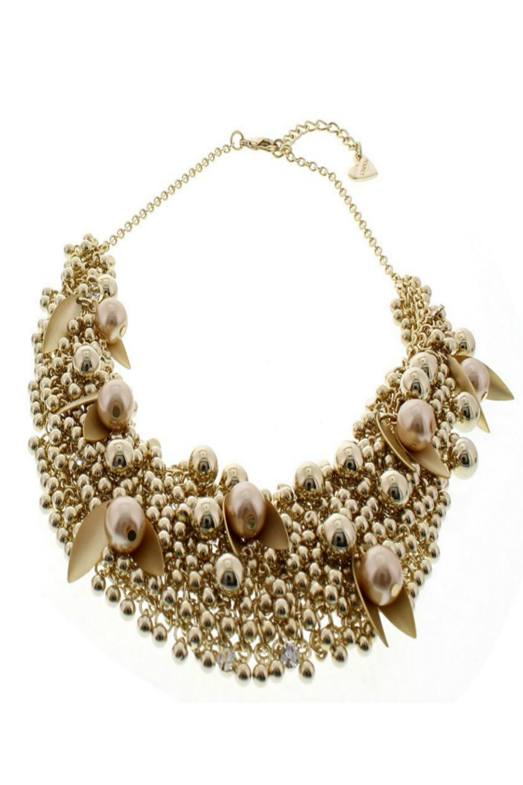 Nour London Pearl/crystal Necklaces - Back Cropped Image