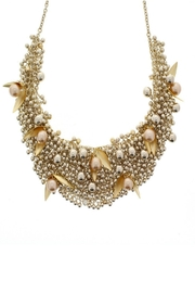 Nour London Pearl/crystal Necklaces - Front cropped