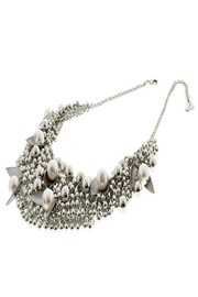 Nour London Pearl/crystal Necklaces - Front full body