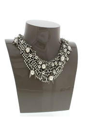Nour London Pearl/crystal Necklaces - Side cropped