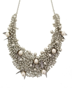 Shoptiques Product: Pearl/crystal Necklaces