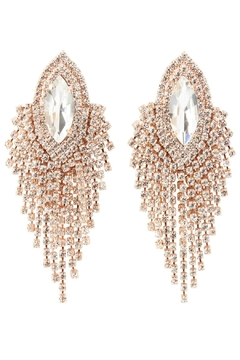Shoptiques Product: Rose Crystal Earring