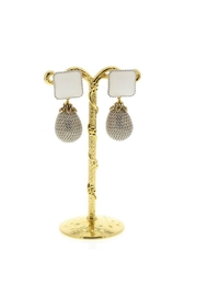 Nour London Statement Drop Earrings - Product Mini Image