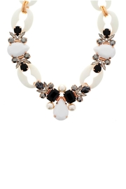 Nour London White Crystal Necklace - Product Mini Image