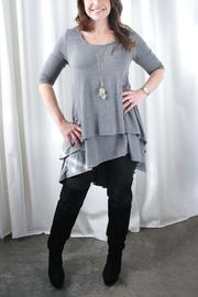 Nourish Collection Two Tiered Nursing Tunic - Product Mini Image