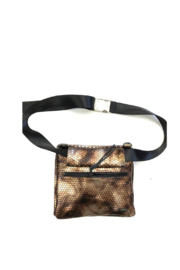 daniella lehavi Nova Crossbody Pouch With Belt Bag Option - Front full body