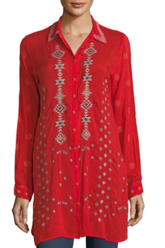 Johnny Was Nova Embroidered Tunic - Product List Image