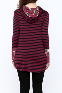 Shoptiques Product: Striped Floral Tunic