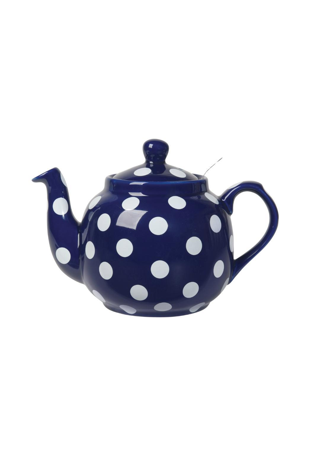Now Designs Cobalt Farmhouse Teapot - Main Image