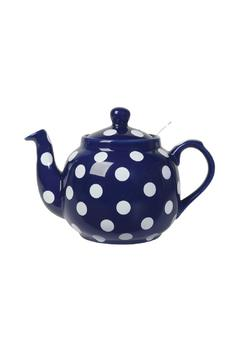 Shoptiques Product: Cobalt Farmhouse Teapot