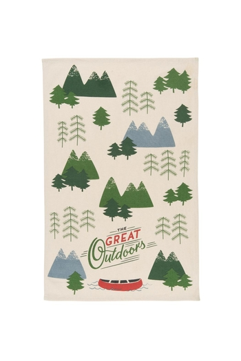 Now Designs Great Outdoors Dishtowel - Main Image