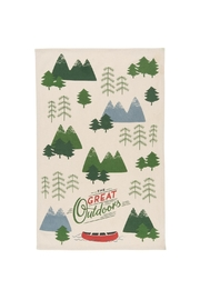 Now Designs Great Outdoors Dishtowel - Front cropped