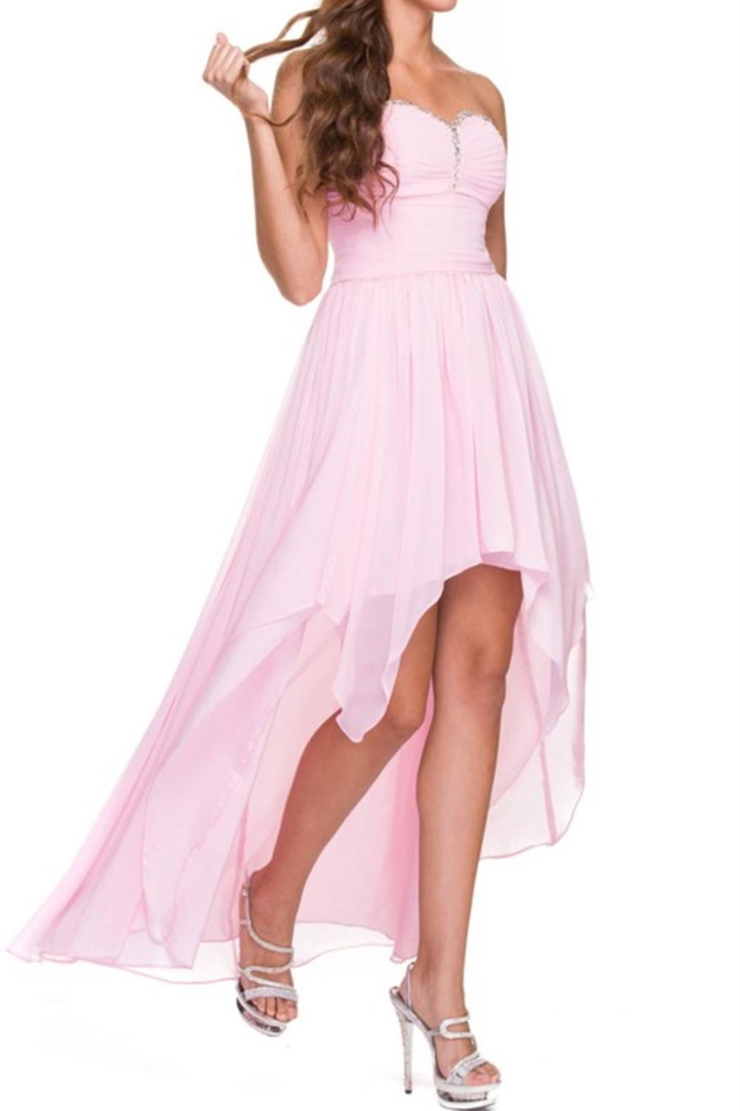NOX A N A B E L High Low Prom-Dress - Front Cropped Image