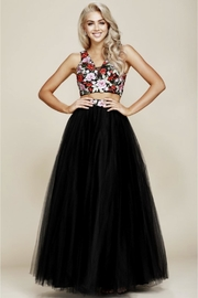 NOX A N A B E L Two-Piece Embroidered Formal-Dress - Product Mini Image