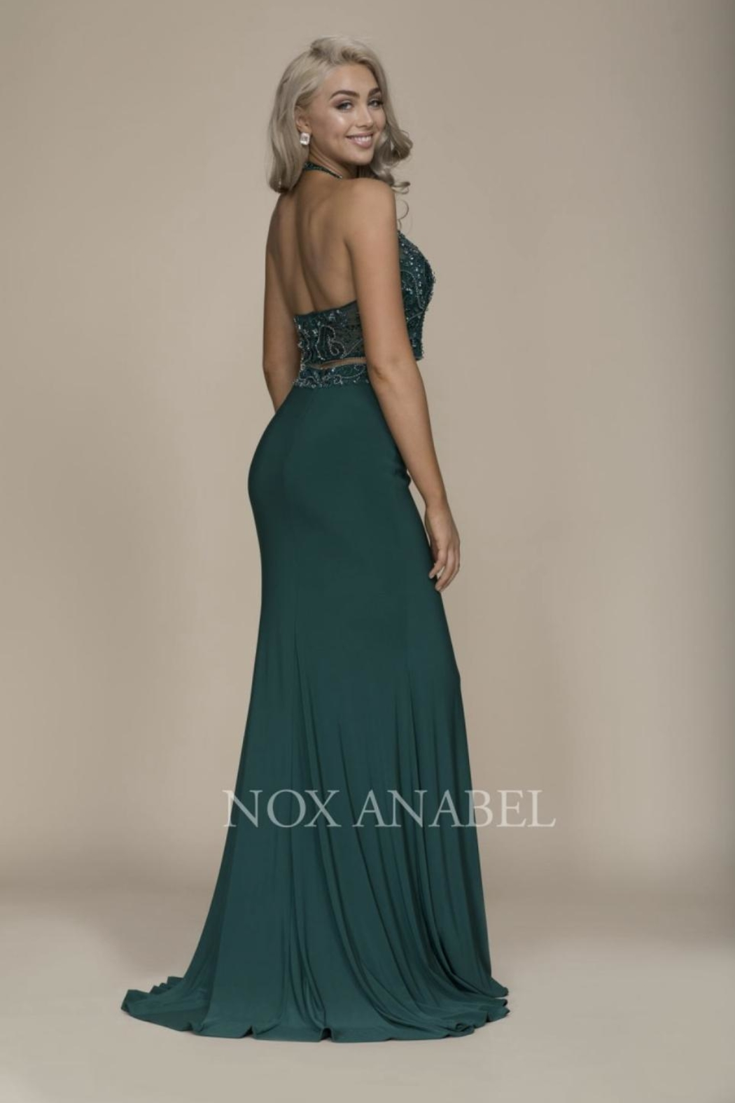 NOX A N A B E L Two Piece Formal-Dress - Front Full Image