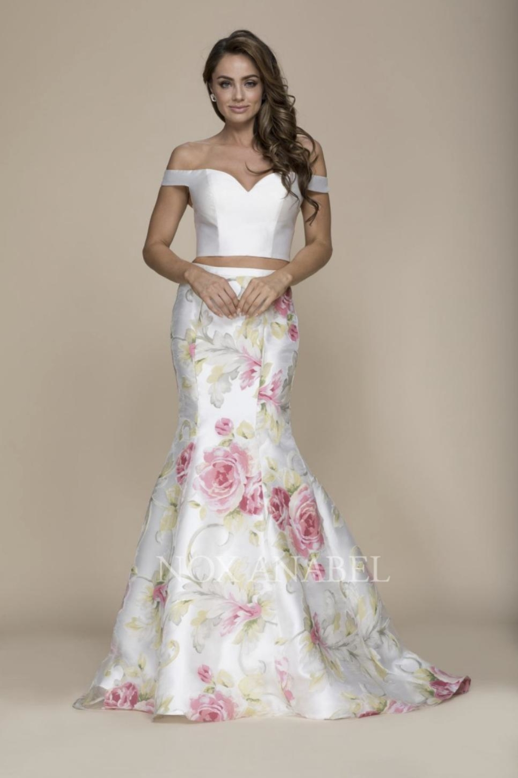 Nox A N A B E L Two Piece Off Shoulder Formal Dress From Florida By