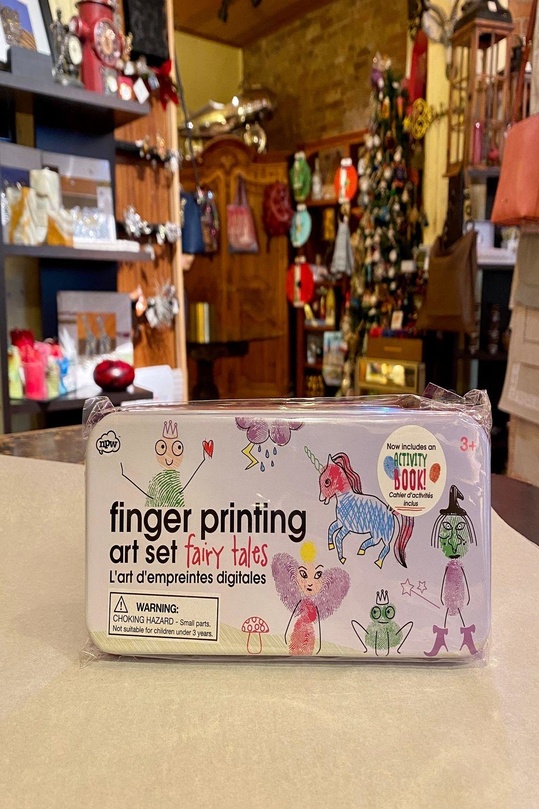 NPW Finger Printing Fairies - Front Cropped Image