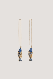 NST Studio Fish Pair Earrings - Product Mini Image