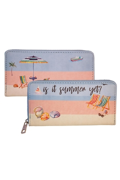 Shoptiques Product: Beach Long Wallet