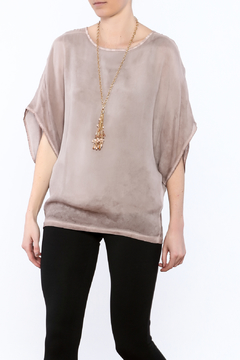 NU Denmark Beige Butterfly Blouse - Product List Image