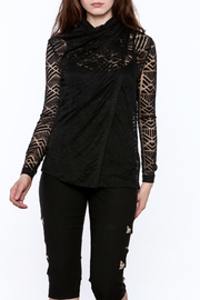 NU Denmark Sheer Long Sleeve Blouse - Product Mini Image