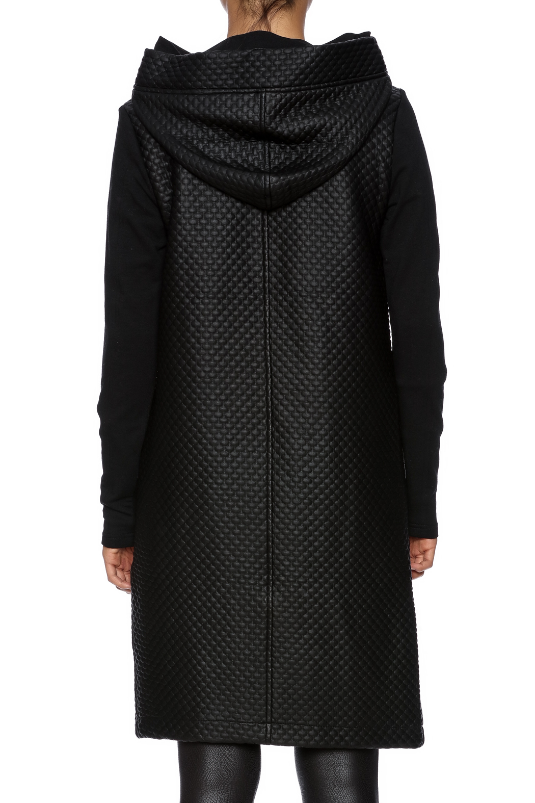 NU Denmark Long Hooded Coat from Long Island by BlueBirdNY