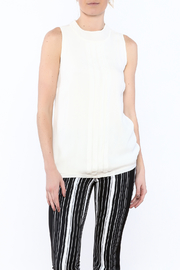 NU Denmark Sleeveless High-Neck Blouse - Front cropped