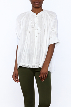NU New York Soft Button Up Blouse - Product List Image