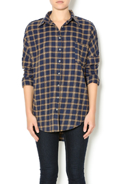 NU New York Artist Flannel - Front cropped
