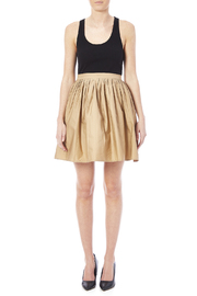 NU New York Beige Skirt - Front full body